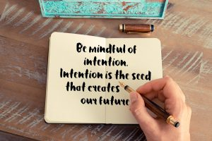 Setting Intentions yoga therapy training india