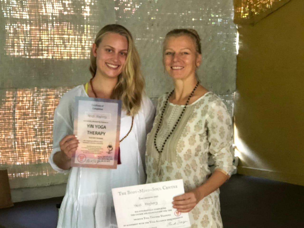Heidi - Yin Yoga Teacher Training Yoga Alliance Certificate