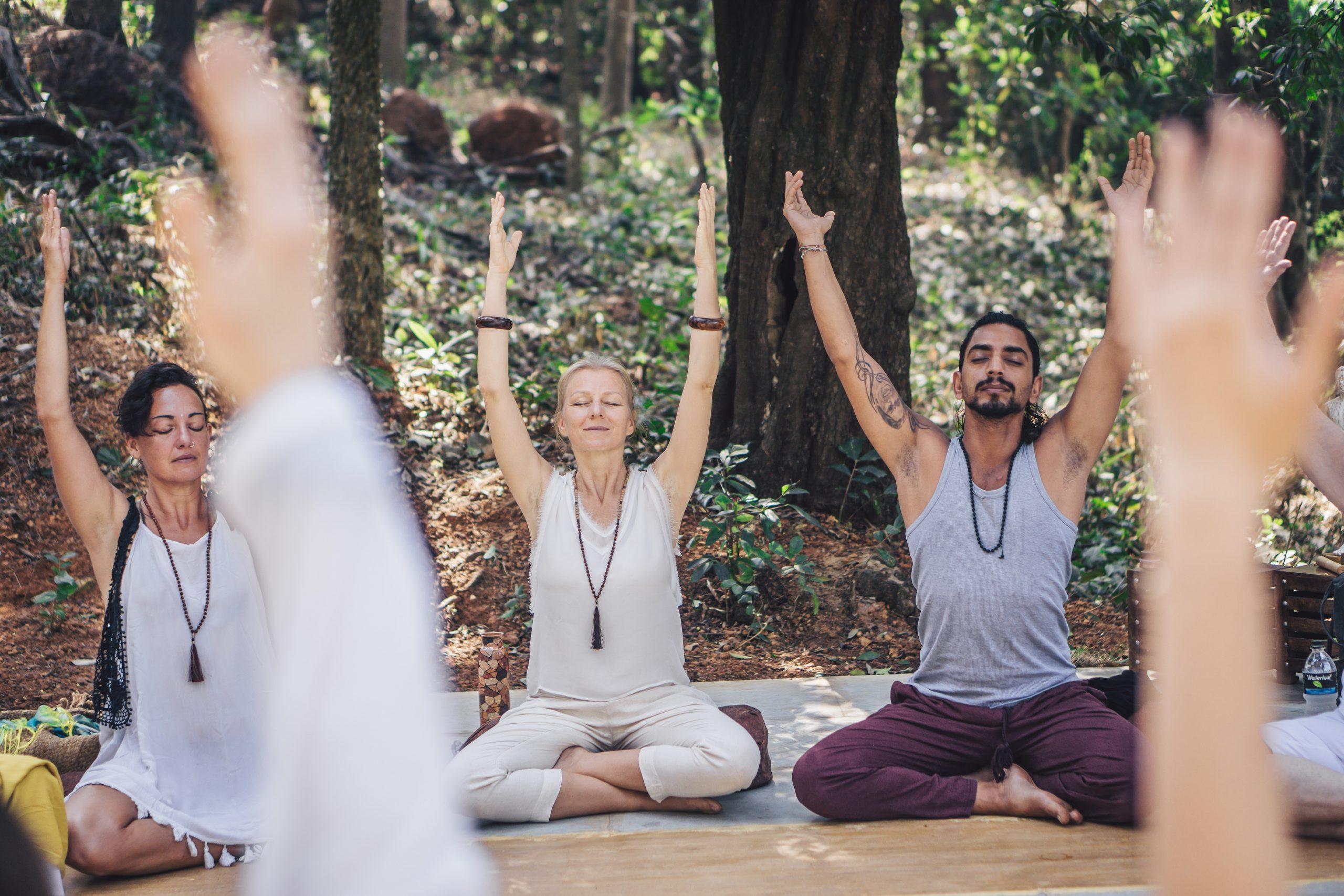 yoga therapy training India - 1