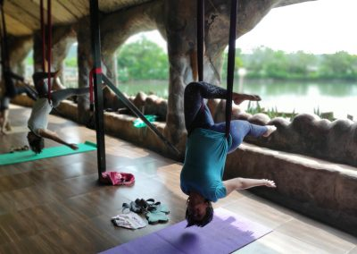 aerial - yoga therapy training india