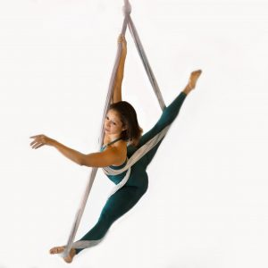 aerial silks - yoga therapy training india 2