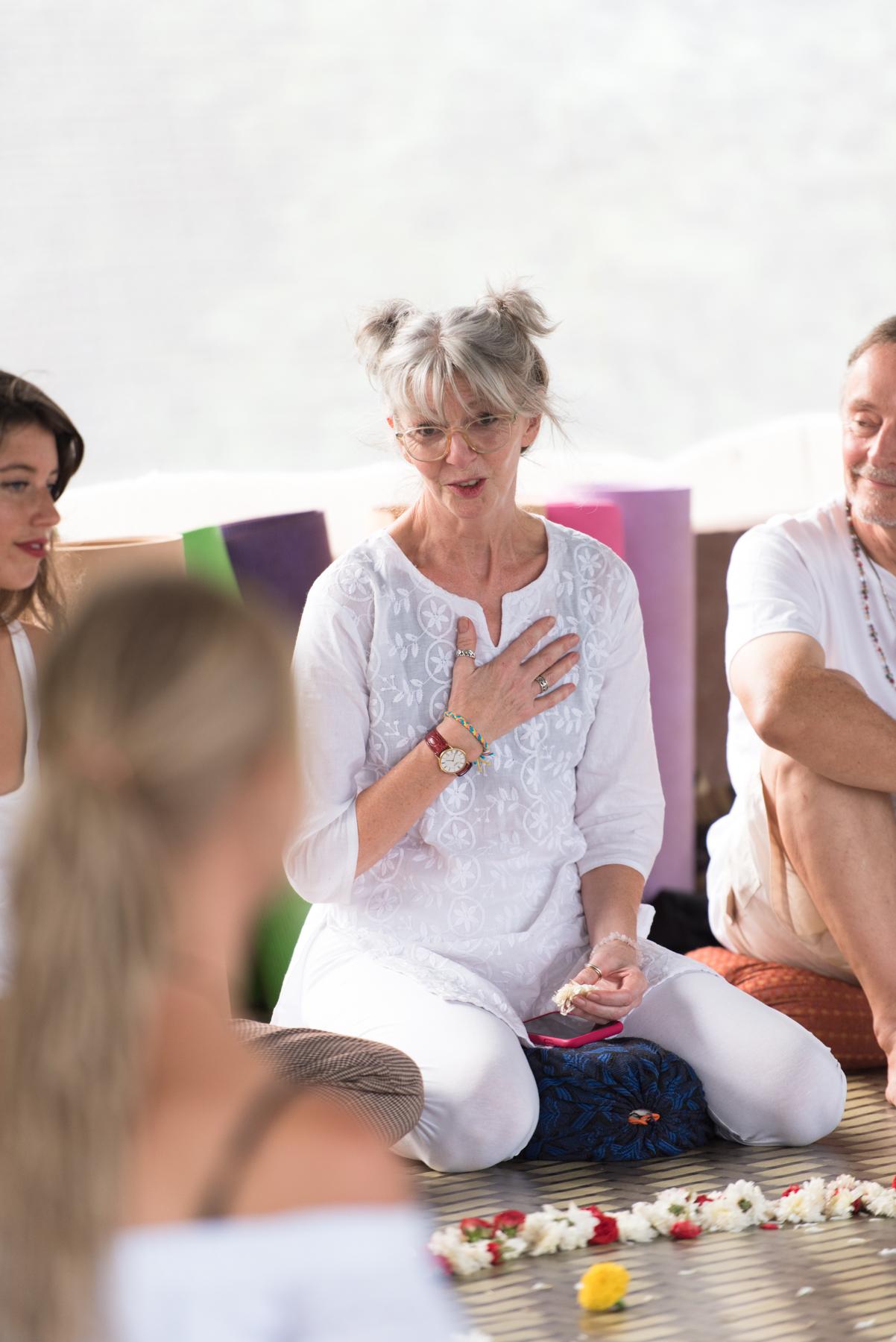 Valery Yin Yoga teacher training Goa