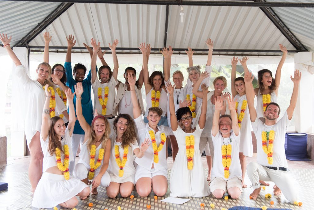 Post Yin Yoga certification - celebration