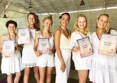 yin yoga certification group 1